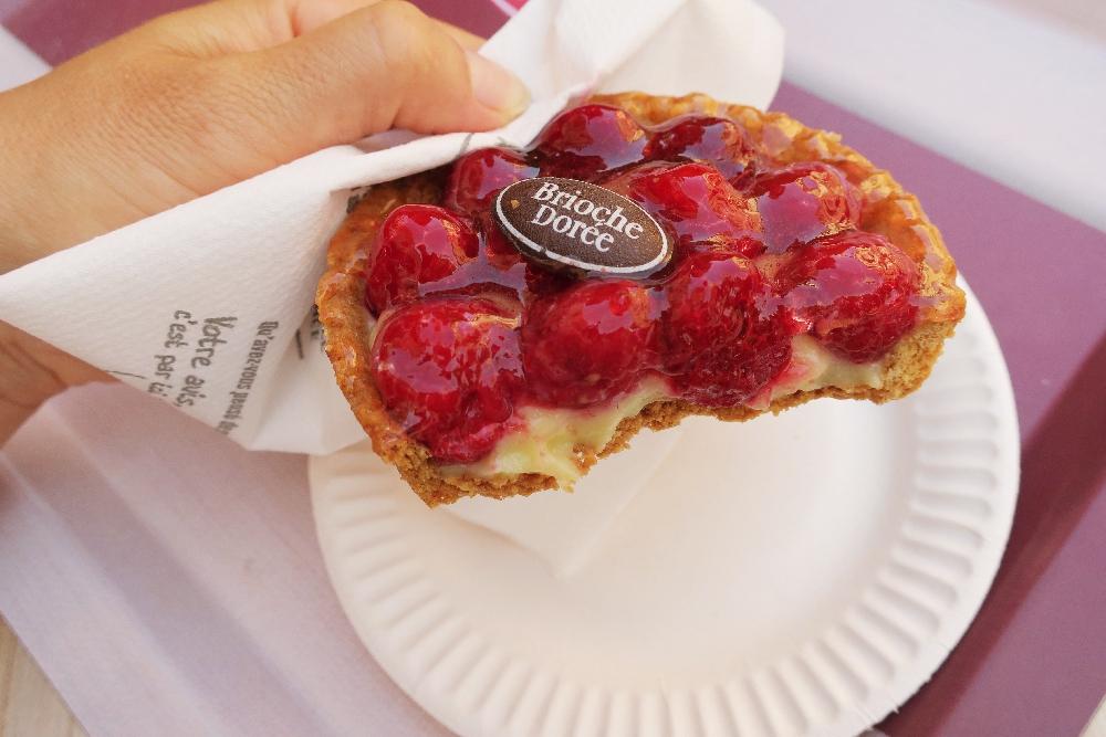 Návštěva pekárny v Menton