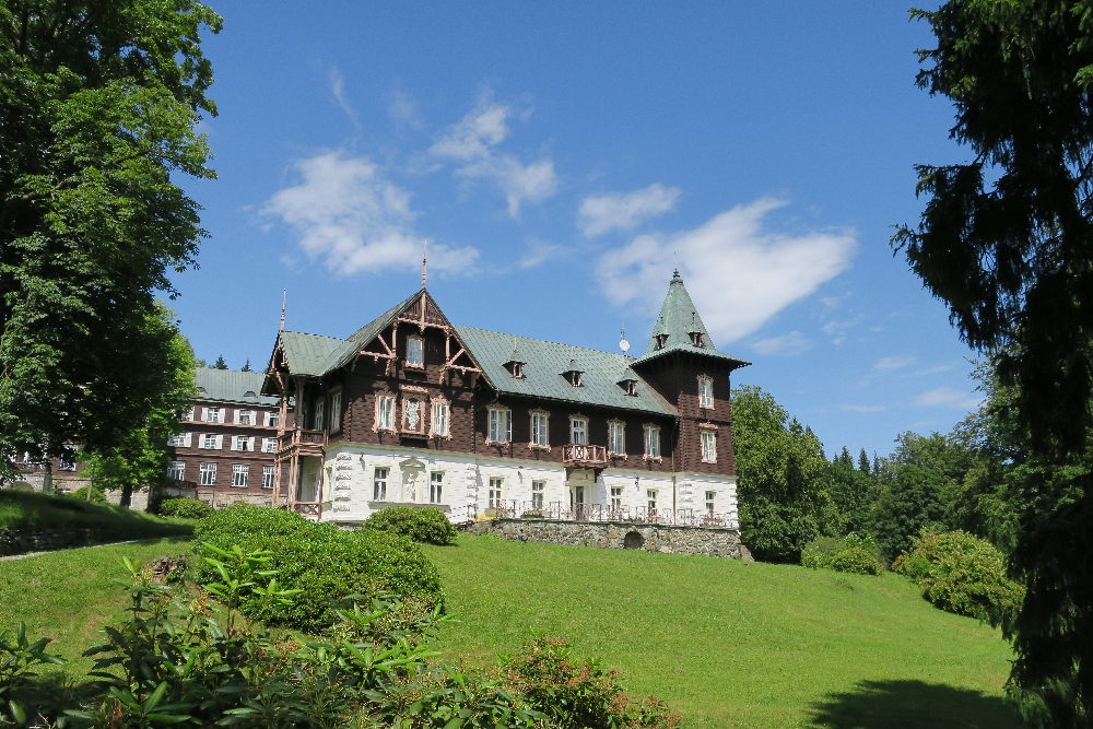 Karlova Studánka - lázeňský dům