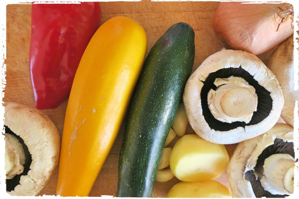 Zeleninka na guláš