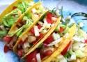 Tacos se zeleninou, majonézou a seitanem