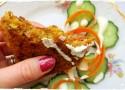 Karbanátky z červené čočky se zeleninou a domácí majonézou